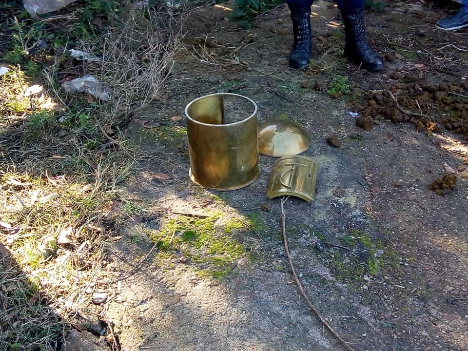 La Policía recuperó el sagrario que se robo en mayo pasado.